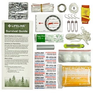 Lifeline Essential Ultralight Survival Kit 29 Pieces - 4052