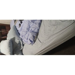 Superior Egyptian Cotton 400 Thread Count Solid Sateen Sheet Set