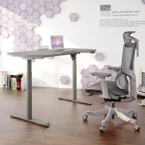 Ergonomic Mesh-back Office Chair w/ Adjustable 5D Armrests