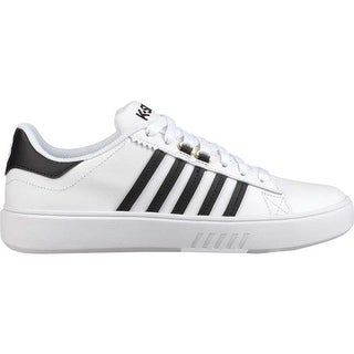 K-Swiss Women's Pershing Court CMF Sneaker White/Black