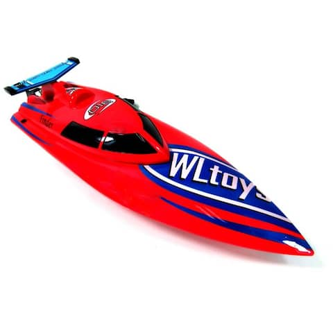 "14"" RC 4CH 2.4Ghz Freedom High Speed Racing Remote Control Boat Red"