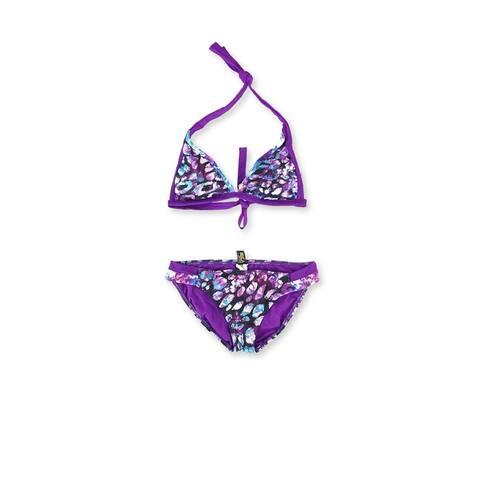 Becca Womens Reversible Side Tab 2 Piece Bikini