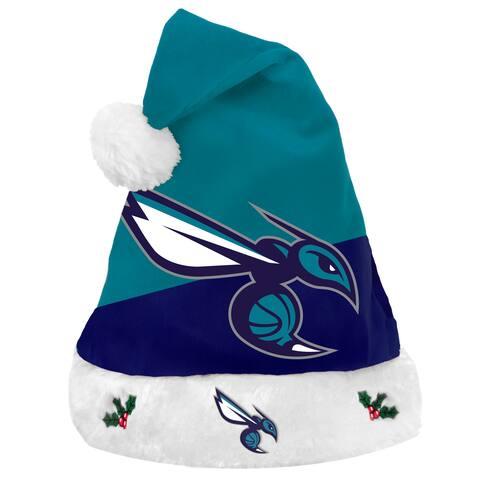 Charlotte Hornets Santa Hat Basic Design 2018