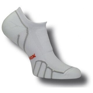 VT 0510 Ghost Ultra Light Weight Running Socks, White-Silver -