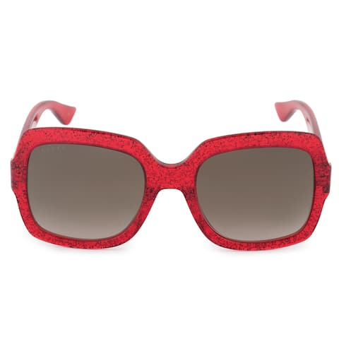 60686f17114 Gucci Gucci Oversized Sunglasses GG0036S 005 54