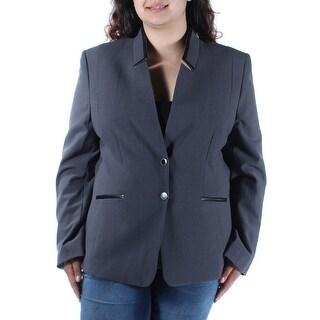 TAHARI $139 Womens New 1604 Gray Suit Wear To Work Jacket 18 B+B