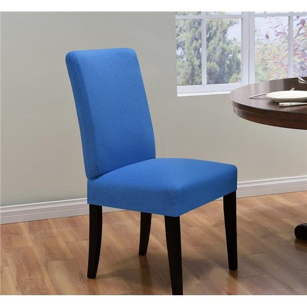 Madison Kathy Ireland Ingenue Dining Room Chair Slipcover Cobalt Free Shipping On Orders Over 45 22562782