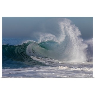 """Waves in the Pacific Ocean, Newport Beach, Orange County, California"" Poster Print"