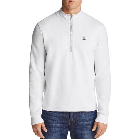 Psycho Bunny Half-zip Golf Pullover Sweatshirt Small 4 White and Golf Tees Set