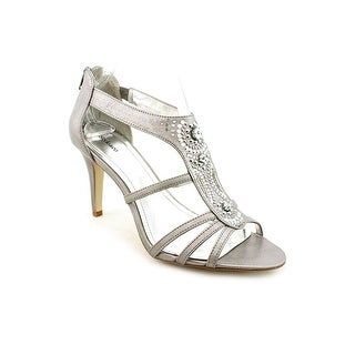 Style & Co Leilani Women Open Toe Synthetic Gray Sandals