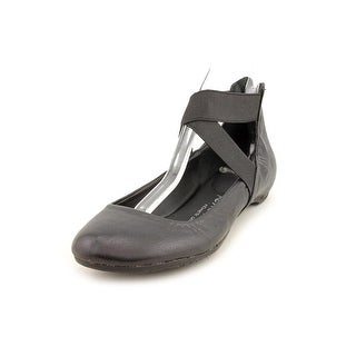 Kenneth Cole Reaction Pro-Time  Women  Round Toe Leather Black Flats