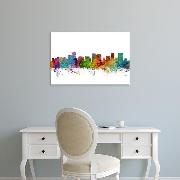 Easy Art Prints Michael Tompsett's 'Orlando Florida Skyline' Premium Canvas Art