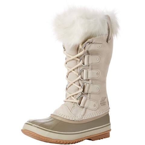 SOREL Womens Joan Of Arctic Leather Closed Toe Mid-Calf Cold Weather Boots