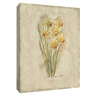 "PTM Images 9-154679  PTM Canvas Collection 10"" x 8"" - ""Springtime Daffodils"" Giclee Daffodils Art Print on Canvas"