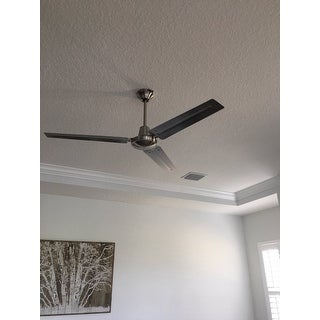 """Westinghouse 7861400 Industrial 56"""" 3 Blade Industrial Indoor Ceiling Fan with Blades and Down Rod Included"""
