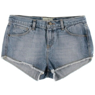 Zara Basic Womens Denim Casual Cutoff Shorts
