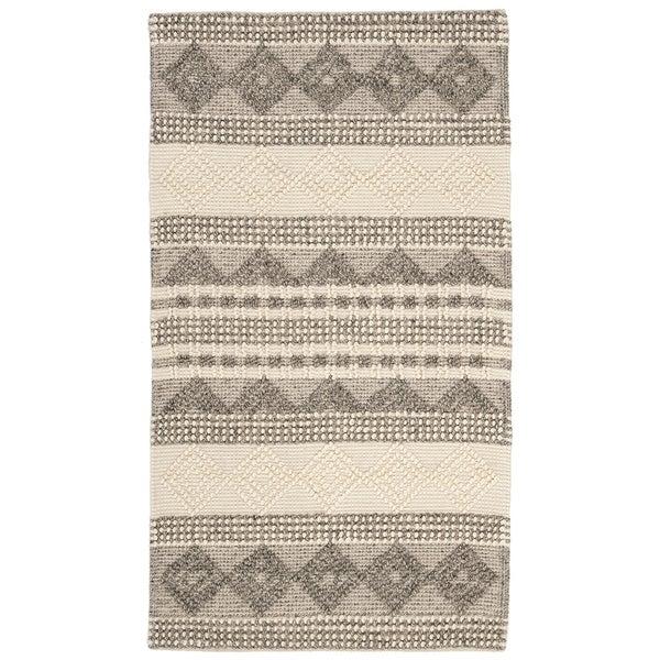 SAFAVIEH Handmade Natura Annedorte Wool Rug. Opens flyout.