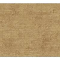 York Wallcoverings TT6194 Texture Portfolio Rice Paper Wallpaper - golden wheat/shining gold flecks/russet brown