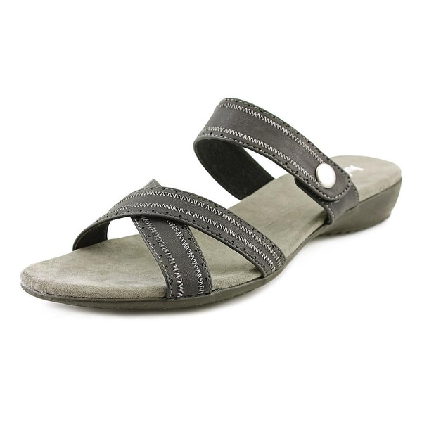 Judith Romy Open Toe Synthetic Slides Sandal