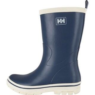 Helly Hansen 2016 Women's Midsund 2 Rain Boots - Tech Navy/Off White - 11281_598 - tech navy/off white