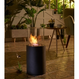 Link to Danya B. 19-inch Indoor/ Outdoor Portable Tabletop Fire Pit Similar Items in Outdoor Decor