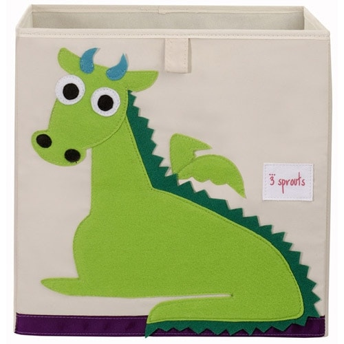3 Sprouts Storage Box - Dragon Storage Box