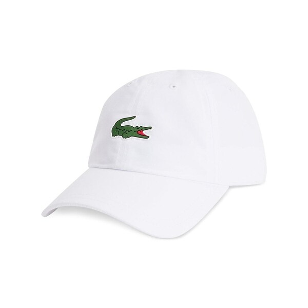 ce1556cc604 Shop Lacoste Mens Ball Cap Applique Logo - o s - Free Shipping On Orders  Over  45 - Overstock - 20577587