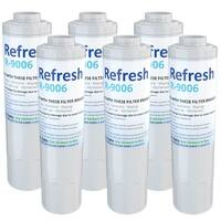 Replacement Water Filter For KitchenAid KBFS20EVMS13 Refrigerator Water Filter - by Refresh (6 Pack)