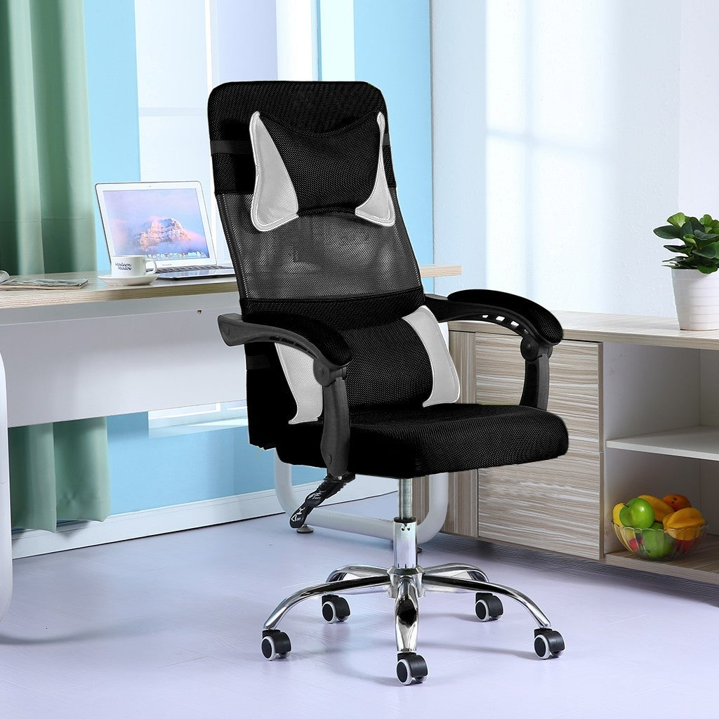 Shop Ergonomic Adjustable Office Chair Liftable Home Computer Network Chair 19x19x48 Inch Overstock 32090873