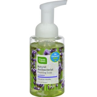 Cleanwell - Lavender Absolute All-Natural Antibacterial Foaming Hand Wash ( 2 - 9.5 FZ)