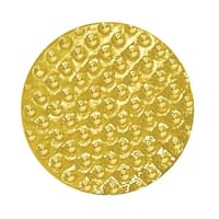 Simba CL034 0.64 in. Chenille Golf Ball Lapel Pin, Bright Gold