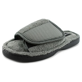 Goldtoe GTM30077 Men Open-Toe Synthetic Slipper