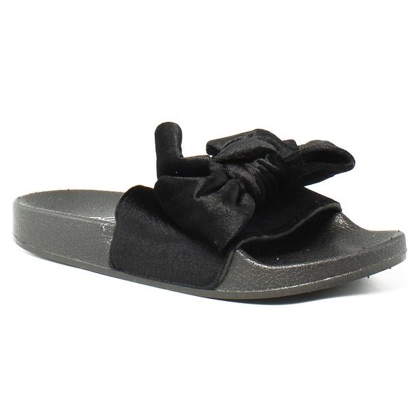 129c2f4a0ac Shop ALDO Womens 53229300 Black Slides Size 5 - On Sale - Free ...