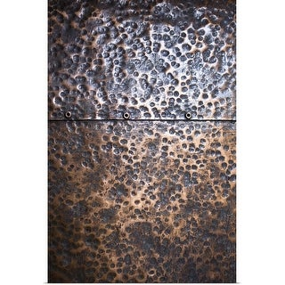 """""""Close-up of copper surface"""" Poster Print"""