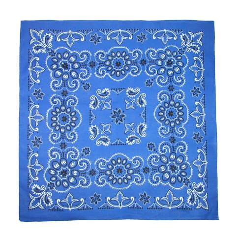 CTM® 27 Inch Extra Large Cotton Texas Paisley Bandana - One size