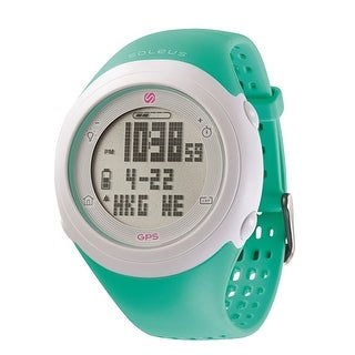 Soleus GPS Fly- Teal Pink Watch