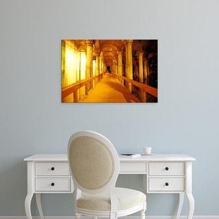 Easy Art Prints Walter Bibikow's 'Cistern Basilica' Premium Canvas Art