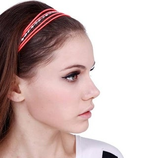 Mad Style Red Neon Headband