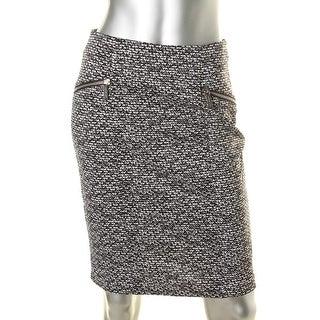 MICHAEL Michael Kors Womens Jersey Printed Pencil Skirt