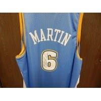 Signed Martin Kenyon Denver Nuggets Denver Nuggets Replica Jersey Size 4XL autographed