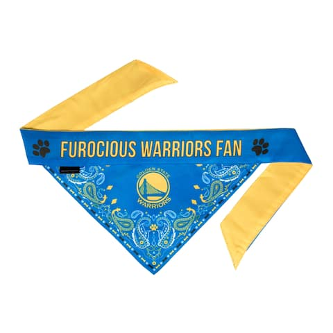 Golden State Warriors Pet Bandanna Size XS