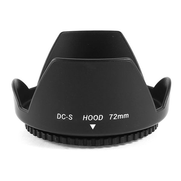 Unique Bargains Digital Camera 72mm Lens Hood Screw Mount Petal Crown Flower Shape