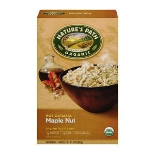 Nature's Path - Maple Nut Oatmeal ( 6 - 14 oz boxes)