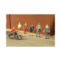 Bachmann BAC33151 O-Scale City People with Motorcycle 7