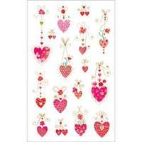 Mrs. Grossman's Stickers-Hanging Hearts
