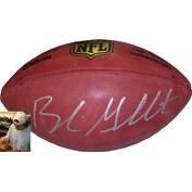 Blaine Gabbert signed Official NFL New Duke Football (Arizona Cardinals)