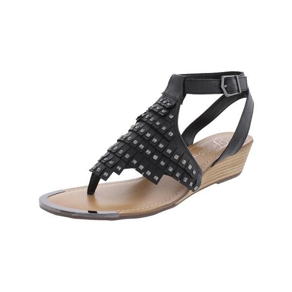 Fergie Womens Balance Thong Sandals Studded Open Toe