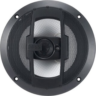 "Boss R63 Boss Audio R63 Riot 6.5"" 3-way 300-watt Full Range Speakers - 100 Hz to 18 Hz - 4 Ohm - 92 dB Sensitivity -"
