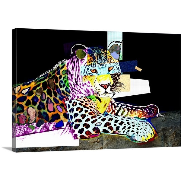 """Leopard 1"" Canvas Wall Art"