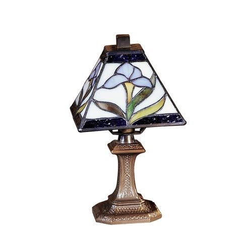 """Dale Tiffany TA100353 6"""" x 11"""" Irene Mini Accent from the Miniature Collection"""